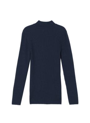 여성) 목넥 립 스웨터(MNV)