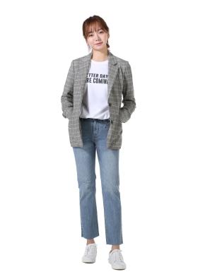 [★탑텐몰 단독특가] 여성) 슬림스트레이트 데님팬츠(LBL)