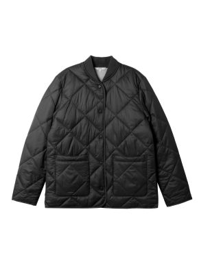 여성) 퀼팅 재킷(BK)