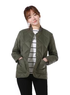 여성) 퀼팅 재킷(KH)