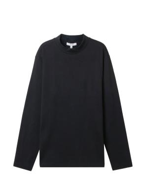 남성) 모크넥 티셔츠(BK)