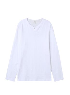 남성) 넥 슬릿 티셔츠(WT)
