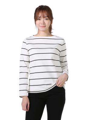 여성) 스트라이프 티셔츠(WTP)