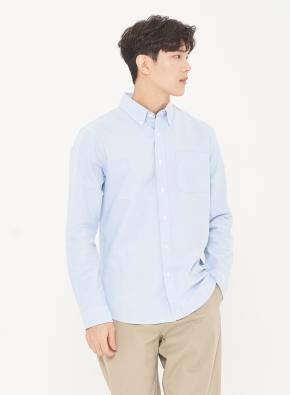 남성) 옥스포드 버튼다운 셔츠(BL)