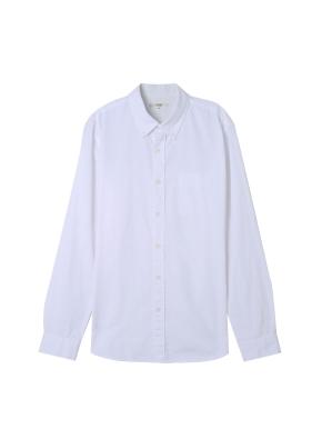 남성) 옥스포드 버튼다운 셔츠(WT)
