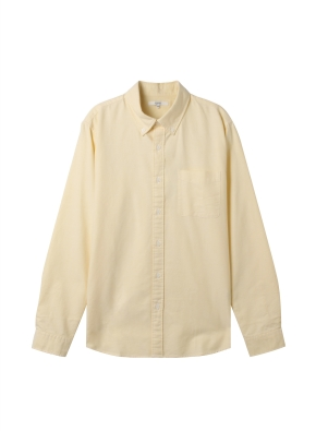 남성) 옥스포드 버튼다운 셔츠(YE)