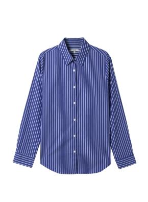 여성) 포플린 와이드 커프스 셔츠(WNS)