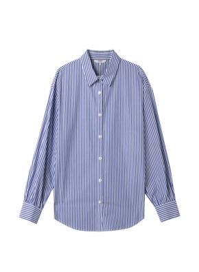 여성) 포플린 베이직 셔츠(BLS)