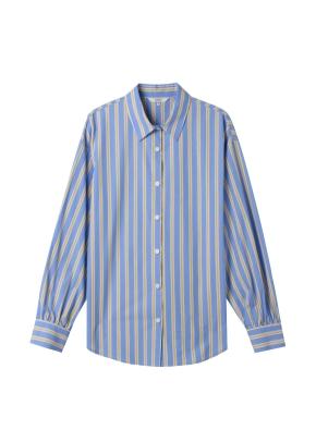 여성) 포플린 베이직 셔츠(BYS)