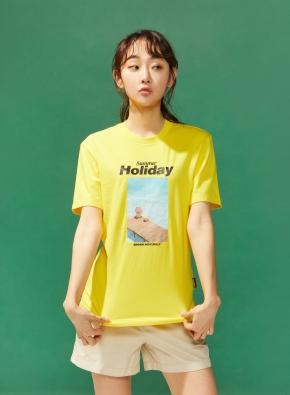 공용) 라인프렌즈 티셔츠 (YE)