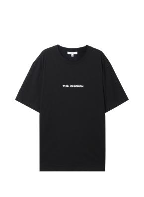 공용) SORRY, CHICKEN 티셔츠 (BK)