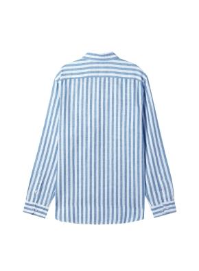 [★온라인 단독특가] 남성) 리넨 버튼다운 긴팔 셔츠(BBS)