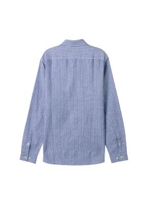[★온라인 단독특가] 남성) 리넨 버튼다운 긴팔 셔츠(BST)