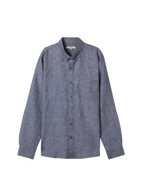 [★온라인 단독특가] 남성) 리넨 버튼다운 긴팔 셔츠(CH)