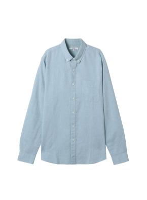 남성) 리넨 버튼다운 긴팔 셔츠(MT)