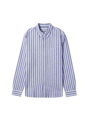 남성) 벨기에 프리미엄리넨 버튼다운 셔츠