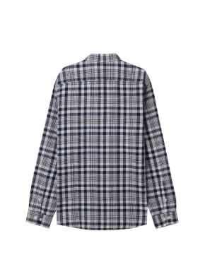 [★온라인 단독특가] 남성) 리넨 버튼다운 긴팔 셔츠(NVK)