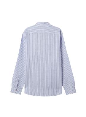 [★온라인 단독특가] 남성) 리넨 버튼다운 긴팔 셔츠(NVS)