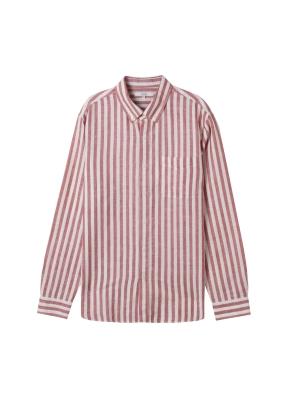 [★온라인 단독특가] 남성) 리넨 버튼다운 긴팔 셔츠(RBS)