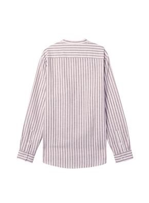 [★온라인 단독특가]  남성) 리넨 밴드카라 긴팔 셔츠(BWS)