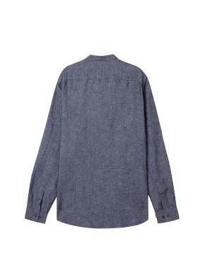 [★온라인 단독특가]  남성) 리넨 밴드카라 긴팔 셔츠(CH)
