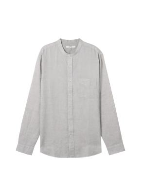 [★온라인 단독특가]  남성) 리넨 밴드카라 긴팔 셔츠(MT)