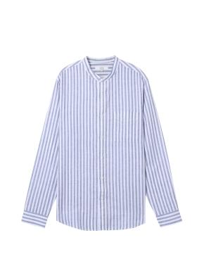 [★온라인 단독특가]  남성) 리넨 밴드카라 긴팔 셔츠(NWS)