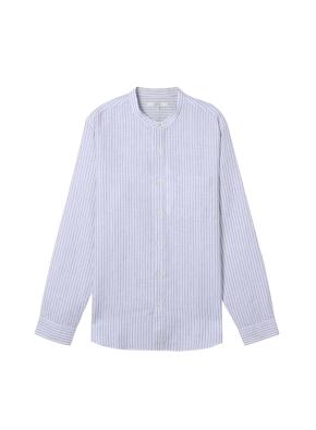 [★온라인 단독특가]  남성) 리넨 밴드카라 긴팔 셔츠(WNS)