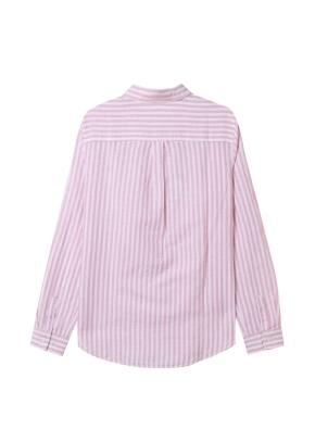 [★탑텐몰 단독특가] 여성) 리넨 레귤러 카라 긴팔 셔츠(CRS)