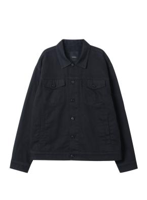 남성) 면 트러커 재킷