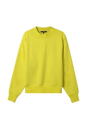 여성) 솔리드 맨투맨 티셔츠 (LM)