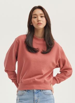 여성) 솔리드 맨투맨 티셔츠 (PK)