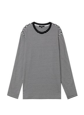 남성) 스트라이프 롱슬리브 티셔츠