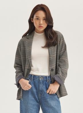 여성) 모달 스판 립 반목 5부 티_(WT)