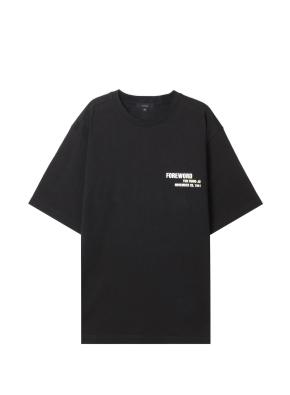 공용) 광복절 캠페인 티셔츠 (8.15) (BK)