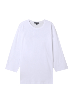 공용) 슬럽 칠부 티셔츠