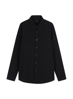 남성) 코튼 옥스포드 버튼다운 긴팔 셔츠