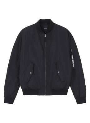 남성) MA1 패딩 재킷 (BK)