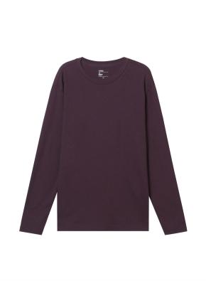 남성) 브러쉬드 크루넥 티셔츠 (BG)