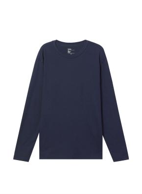 남성) 브러쉬드 크루넥 티셔츠 (NV)