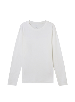 남성) 브러쉬드 크루넥 티셔츠 (WT)