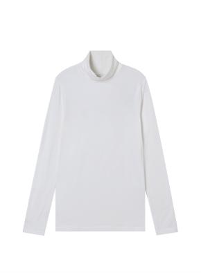 여성) 레이온 코튼 스판 터틀넥 티셔츠 (WT)