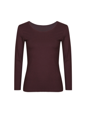 여성) 온에어 모달코튼 크루넥 긴팔 티셔츠 (BG)