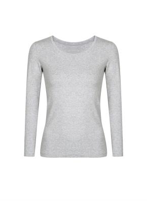 여성) 온에어 모달코튼 크루넥 긴팔 티셔츠 (MGR)