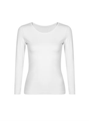 여성) 온에어 모달코튼 크루넥 긴팔 티셔츠 (OWT)