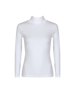 여성) 온에어 모달코튼 터틀넥 긴팔 티셔츠 (OWT)
