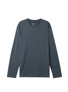 공용) 솔리드 크루넥 긴팔 티셔츠 (DGN)