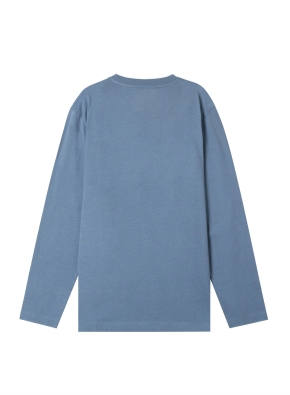 공용) 싱글 크루넥 긴팔 티셔츠 (19FW) (DBL)