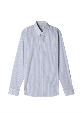 남성) 스판 버튼다운 드레스 셔츠
