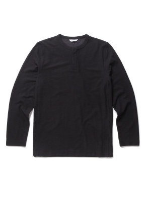 플라켓 포인트 라운드 티셔츠 (BK)